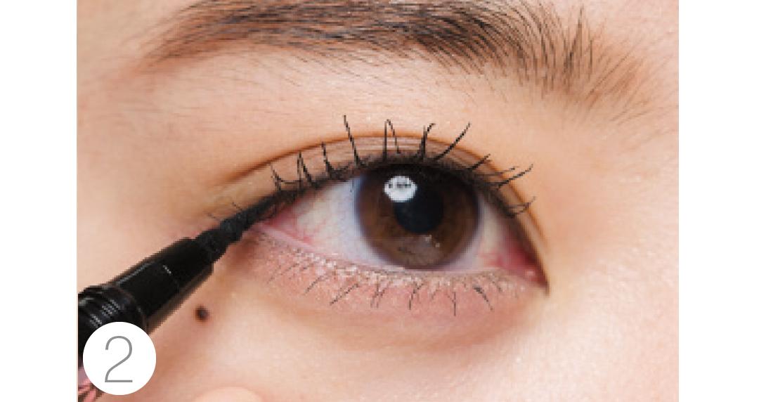 奥二重さんのお悩みは、目の「縦幅強調」アイメイクで解決!_1_3-4