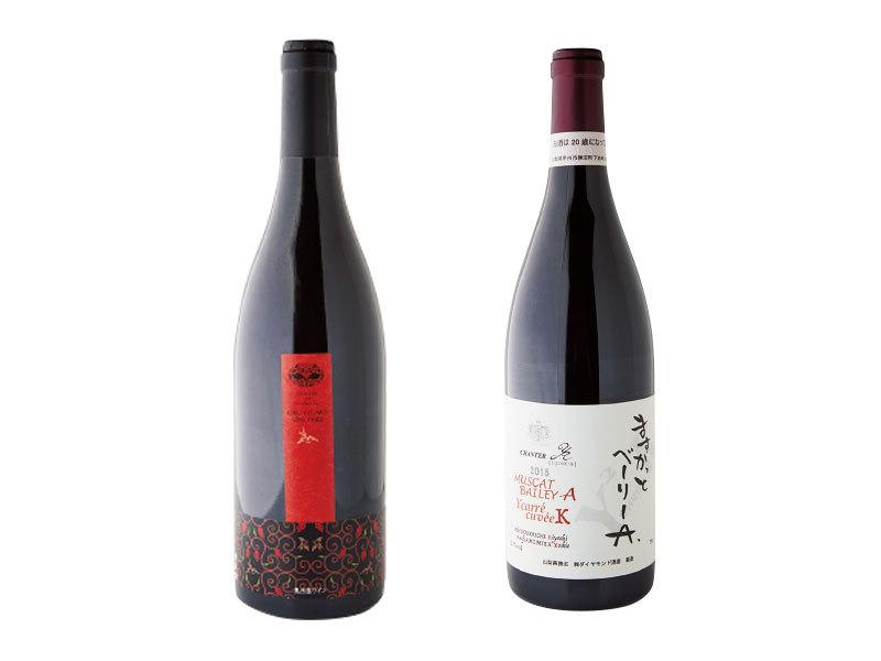 日本の赤ワイン