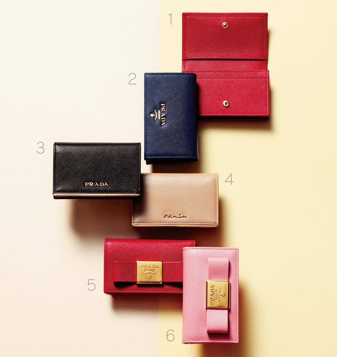 #4月から社会人 自分へのプレゼントにしたいプラダの名刺入れコレクション♡ _1_1