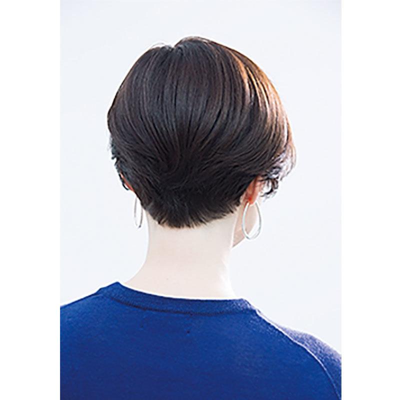 素髪の延長のような抜け感。40代のためのショートヘアスタイル月間ランキングTOP10_1_3