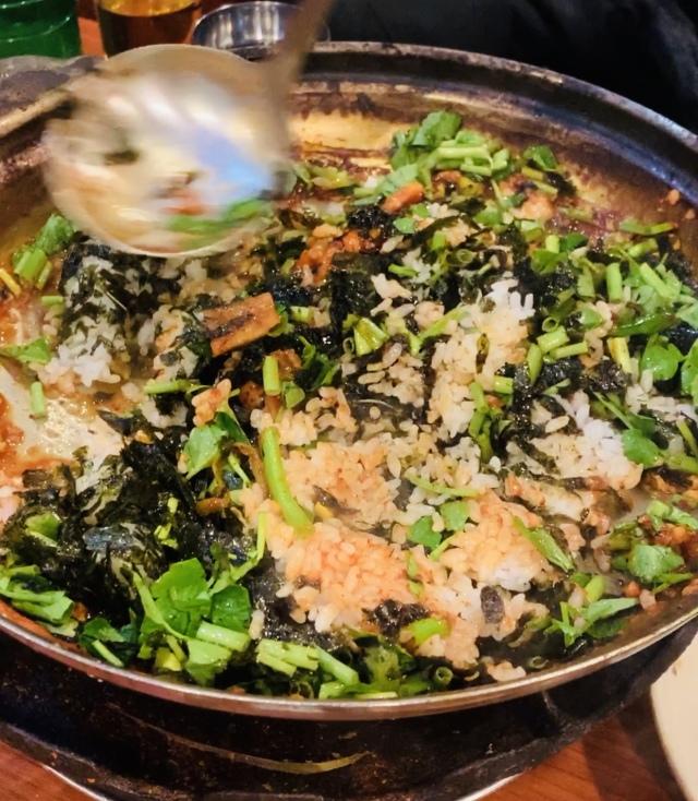 ソウル2019冬。本当に美味しかった店だけ③濃厚すぎるタラ鍋で作る、究極の〆飯_1_8
