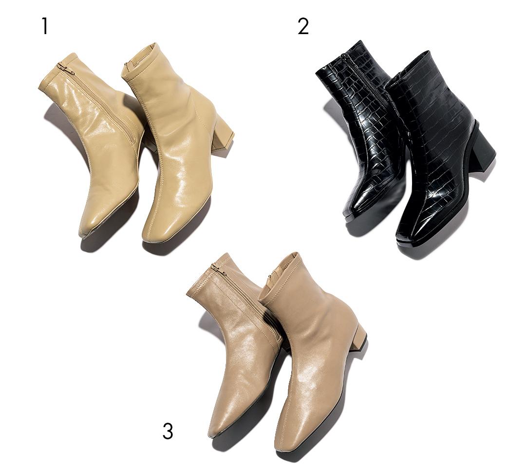【スニーカーじゃない日のムード出し靴】ハンサムなショートブーツ_1_5