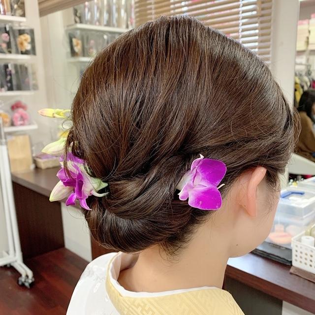 ☆ボブスタイルのヘアアレンジ~着物編~☆_1_3