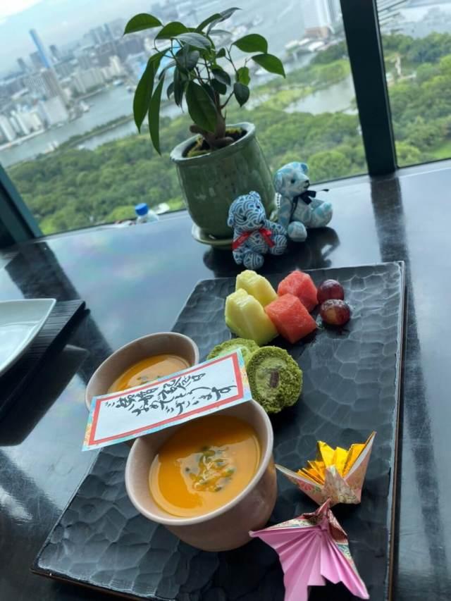 CONRAD東京「風花」日本料理へランチ _1_2-3