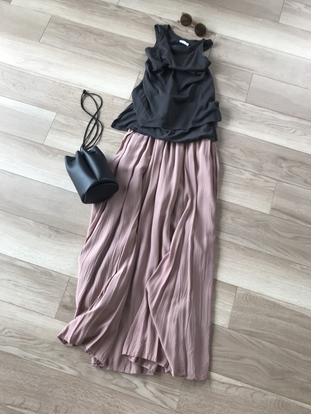 「楽ちん着映え」私が選んだロングスカート【40代 私のクローゼット】_1_4