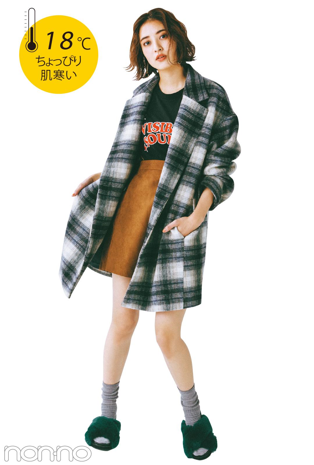 GUの完売必至★チェスターコートで、秋→冬着回し3コーデ!_1_2-1