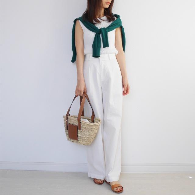 5月の着まわしDiary!「羽織りはどうする?」着るだけ簡単UVカット!_1_3