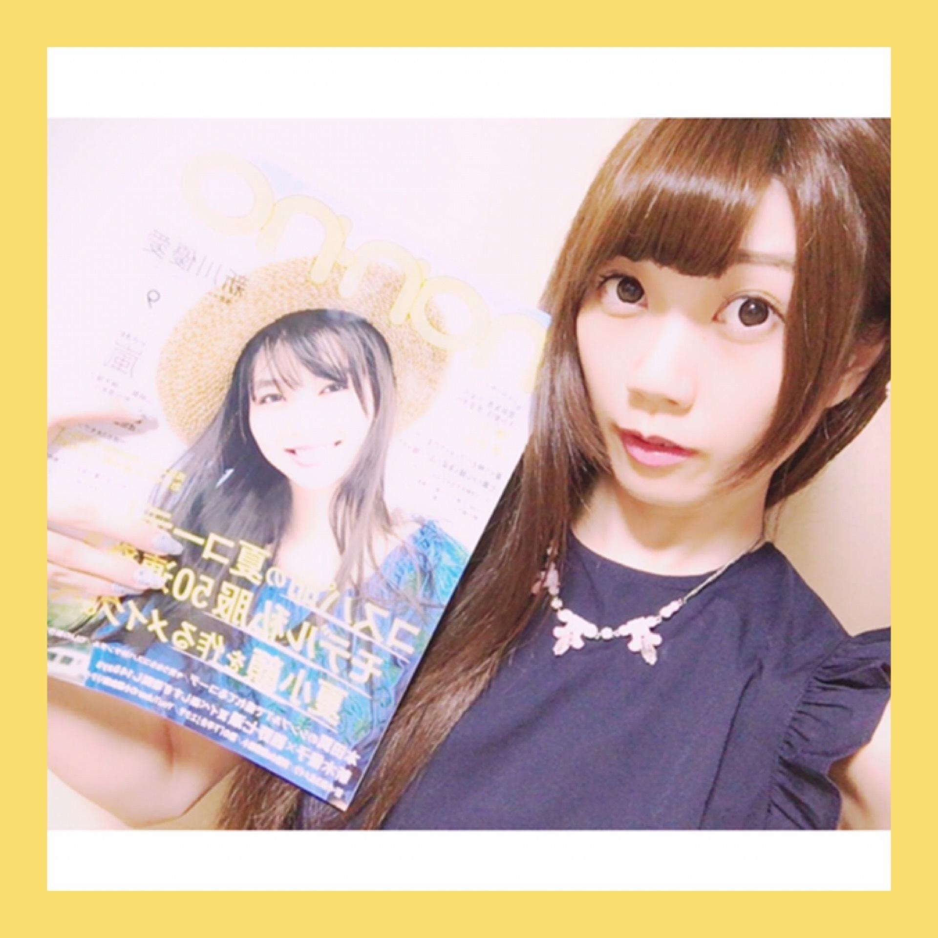 「 non-no 9月号 」発売中です!*॰¨̮_1_1