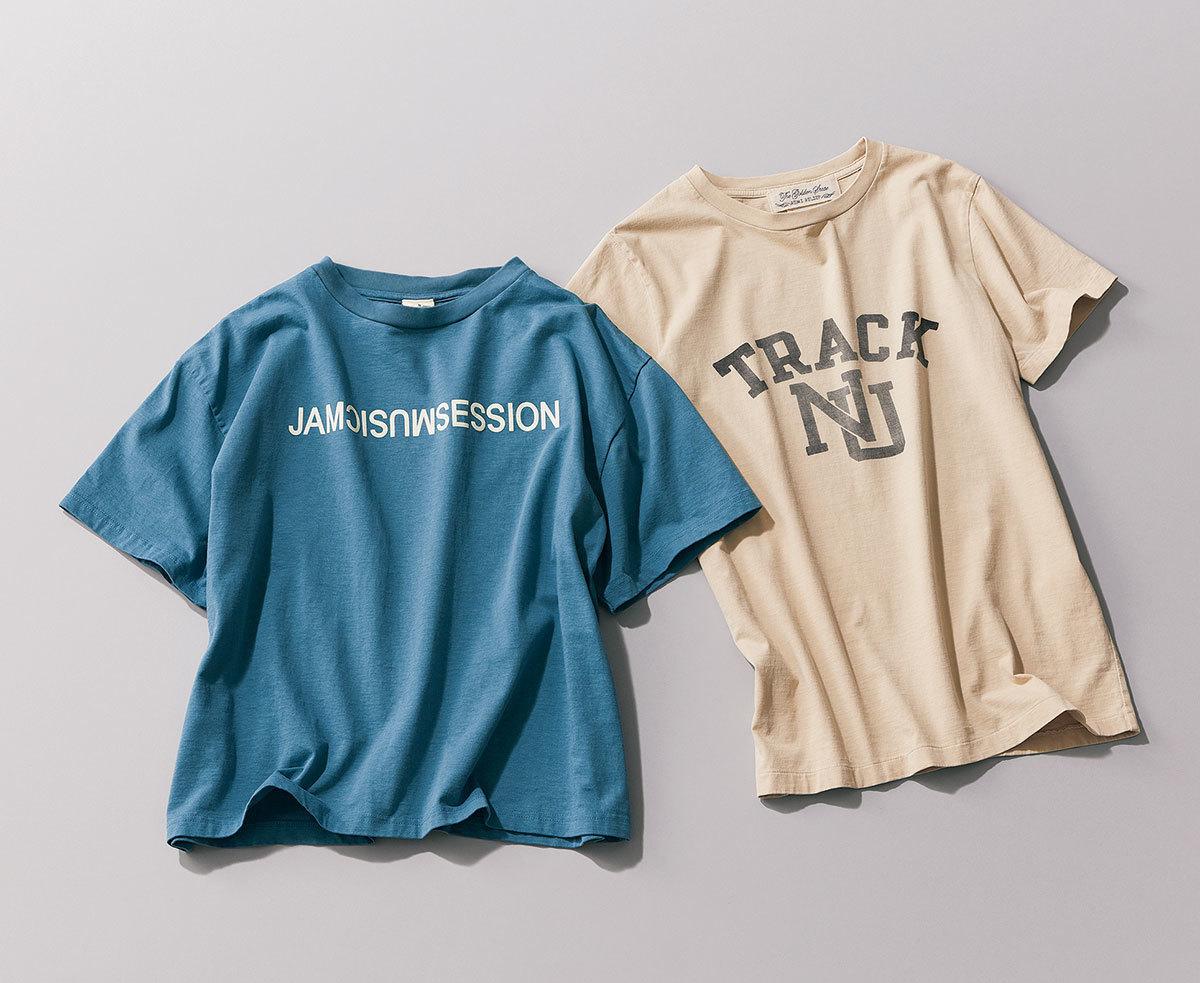 ロゴTシャツ2