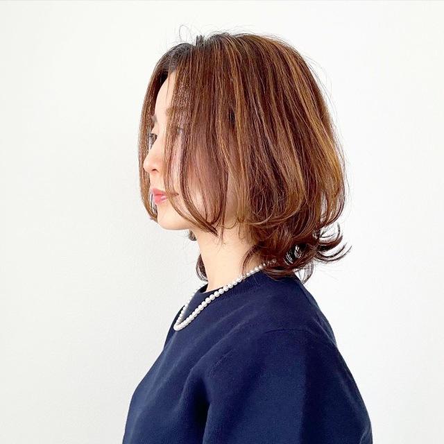 白髪隠しに最適!大人のハイライト【tomomiyuヘア】_1_3