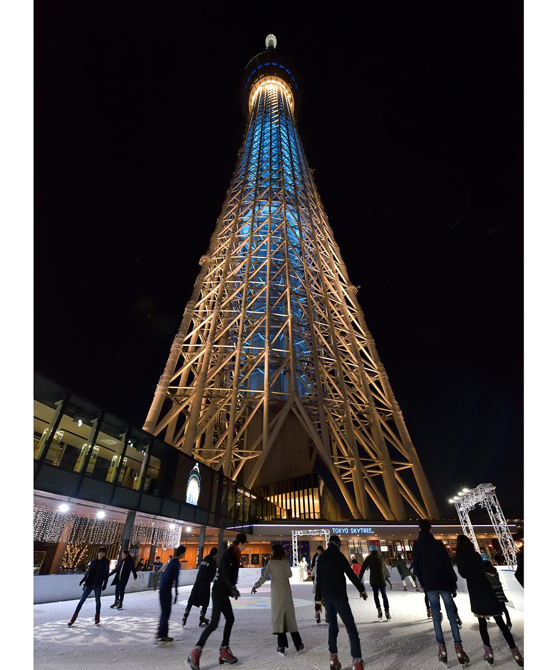アイススケーティングパーク2018|東京スカイツリー