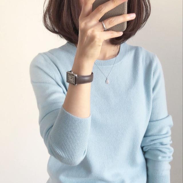 『UNIQLO』カシミヤセーター着回し【tomomiyuコーデ】_1_6