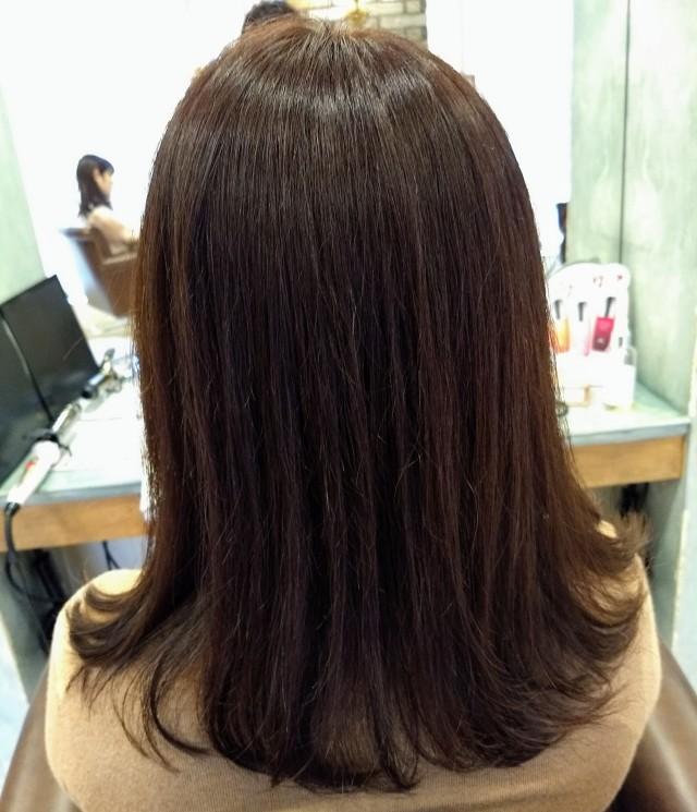 Newヘアスタイルは、女っぷりセミロング_1_2-1