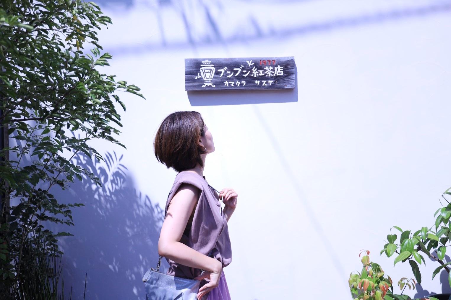 ZARAの細見えパワーショルダートップスと、きれい色のひらりんスカート♡_1_5-2