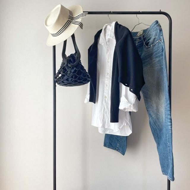 この春のHIT服「シャツ」をアラフォーはこう着る!最旬シャツコーデまとめ|40代ファッション_1_28
