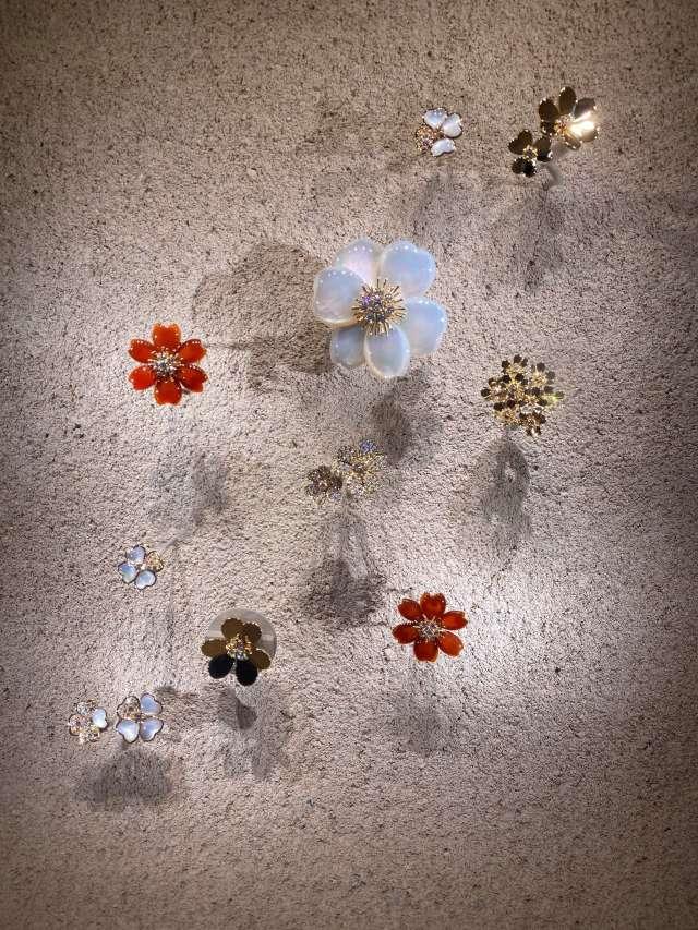 """ヴァン クリーフ&アーペルの展覧会""""ハナの光""""へ行ってきました   _1_8"""