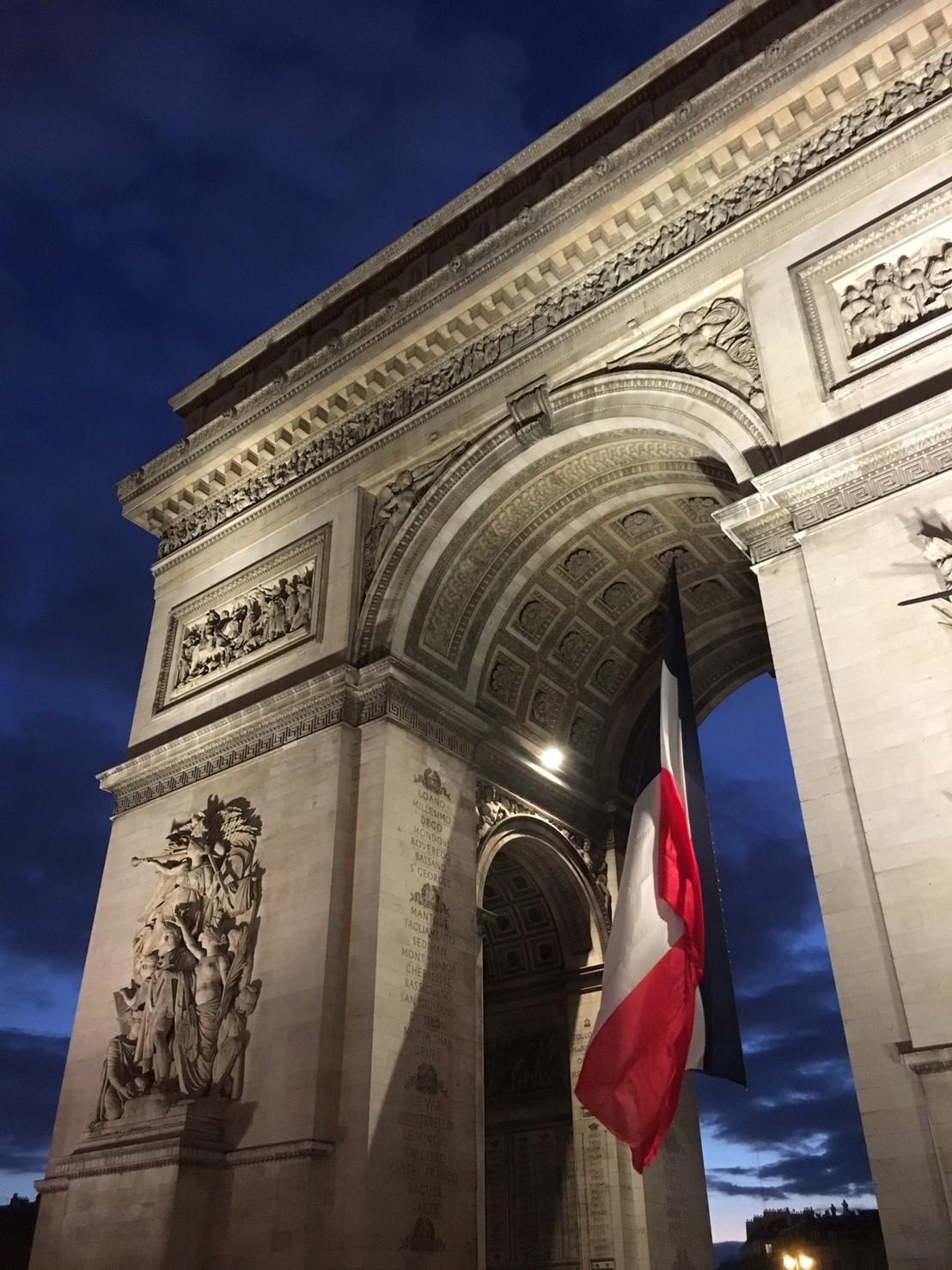 これからフランス旅行を考えている人に見てほしいブログ②〜フランス1日目〜_1_5-5
