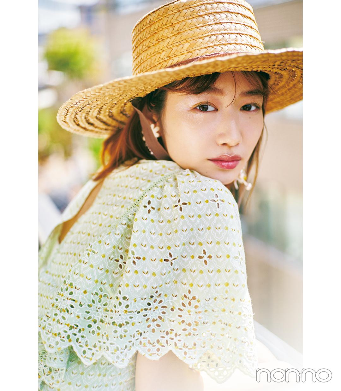 岡本夏美モデルカット1