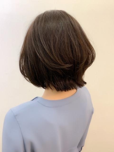 福岡からひとっ飛び!表参道の美容室で、春の軽やかボブスタイル☆_1_1