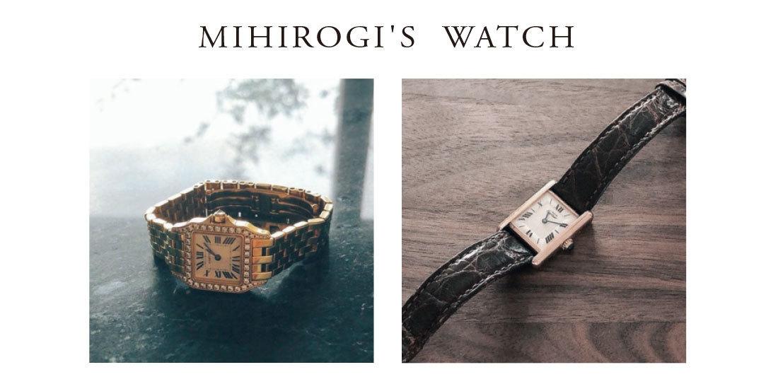 ■三尋木の愛用時計を公開!