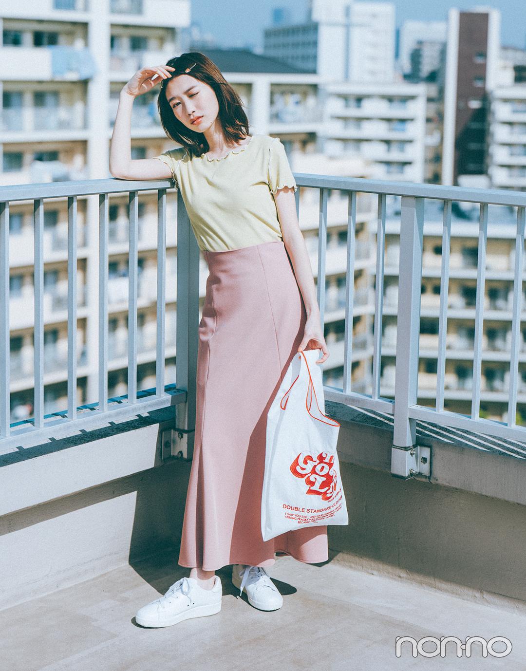 『岡本夏美』のモデルカット6-2