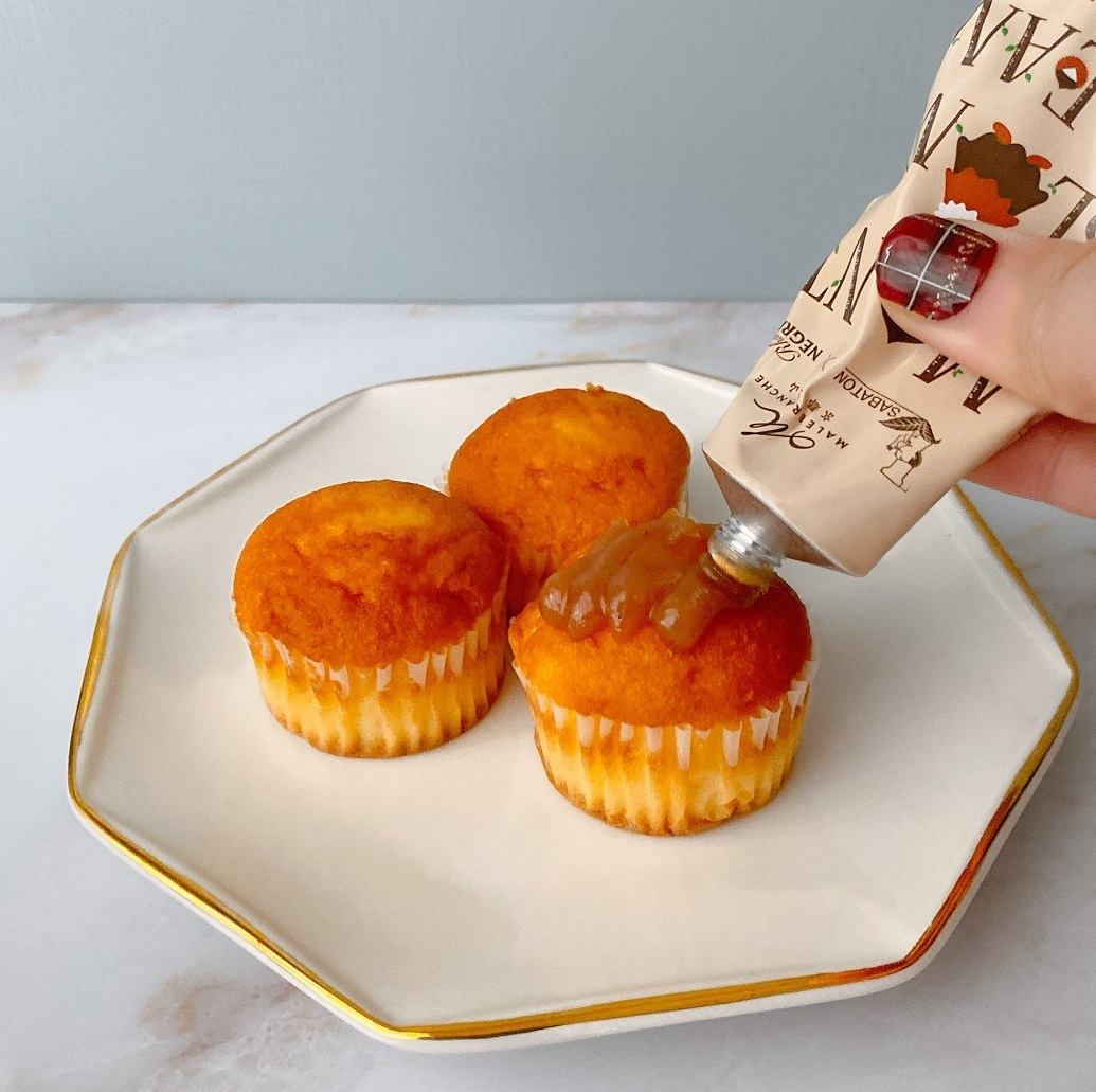 マールブランシュ「モンブランクリーム」は、チューブタイプのモンブランクリーム