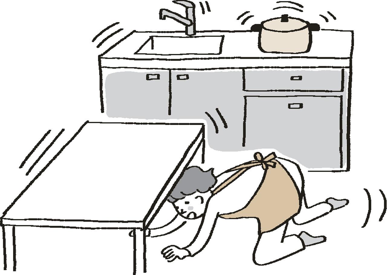 外で、家の中で、地震! そのときどうすべき? 取るべき行動 五選_1_1