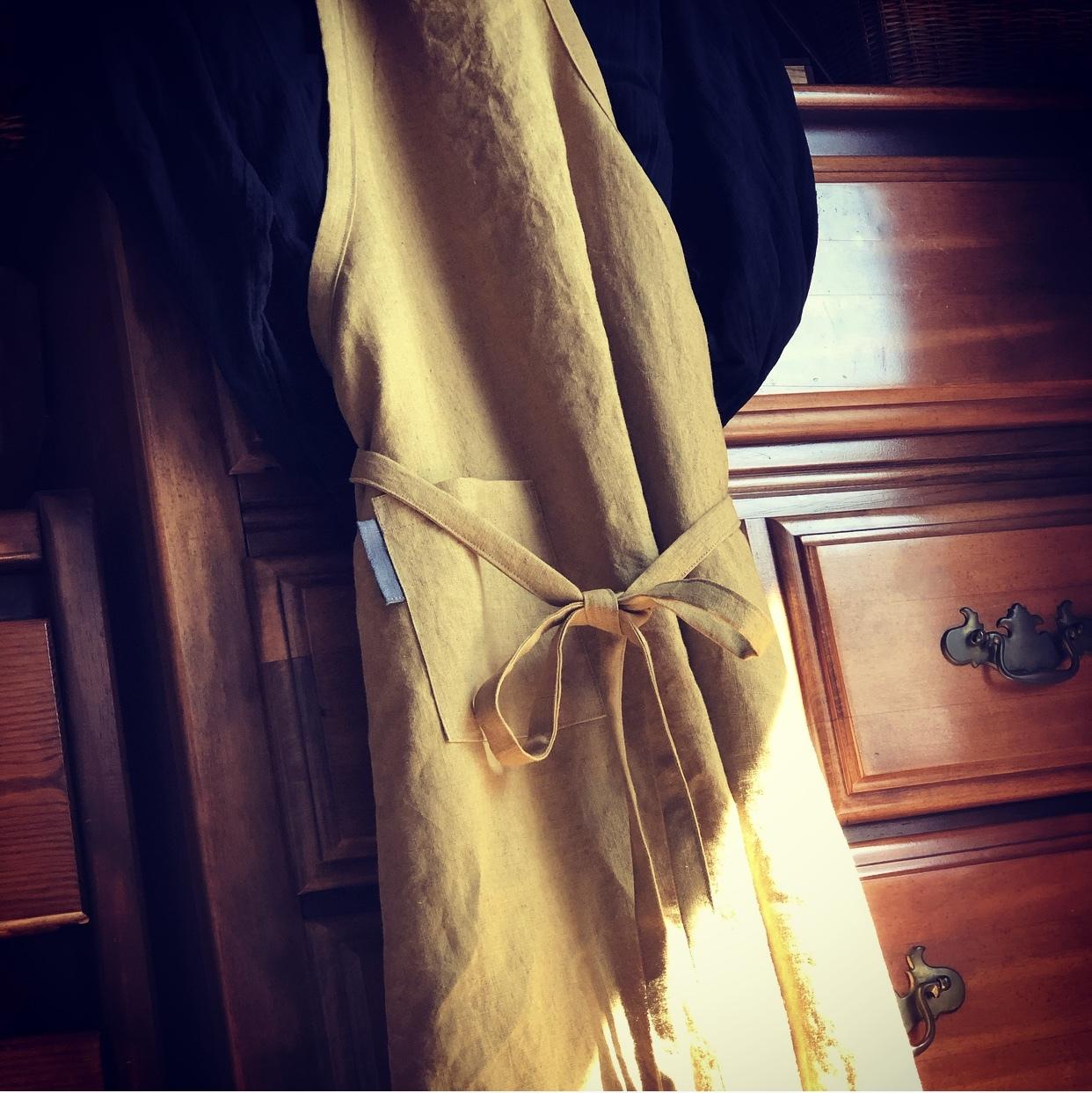 服を纏うようにエプロンを 〜秋の手仕事②_1_2-4