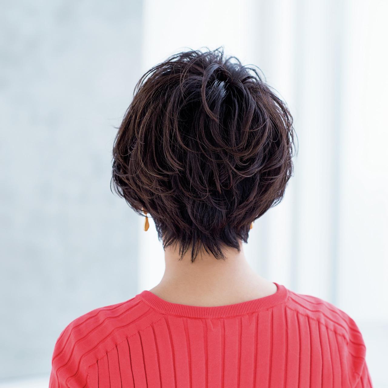 華やかに、女性らしく進化中! 大人の春ショートヘア 五選_1_1-3