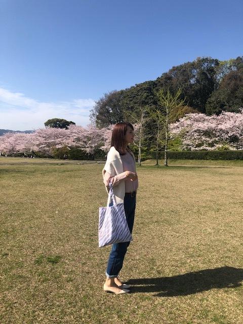 桜満開!お花見コーデ_1_1