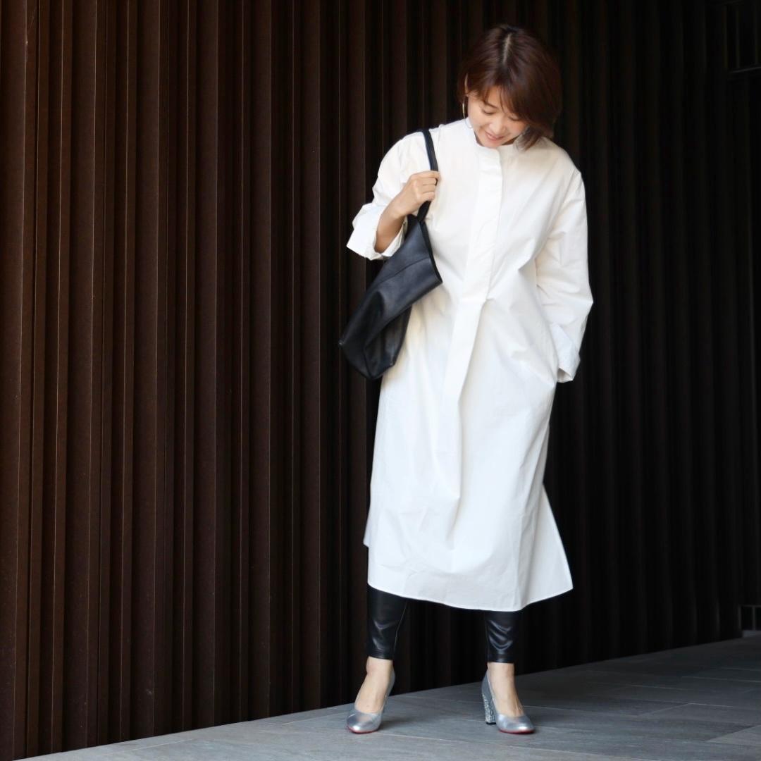 オールシーズン万能に着られるお気に入りの白ワンピース♪_1_3