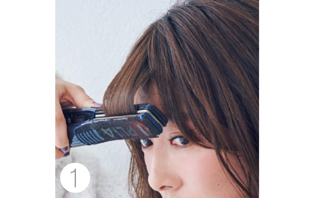 馬場ふみかの厚め前髪の作り方を超ていねい解説!【2019年★髪型を変える!】_1_4-1