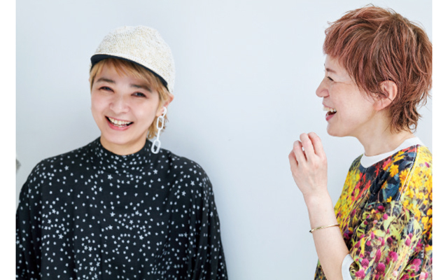 前田百合子さん(右)、吉村英美さん(左)