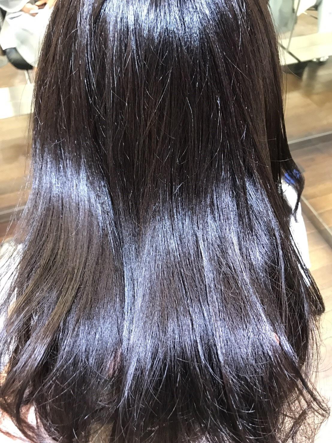 黒髪女子必見♡ 透明感抜群カラー_1_4