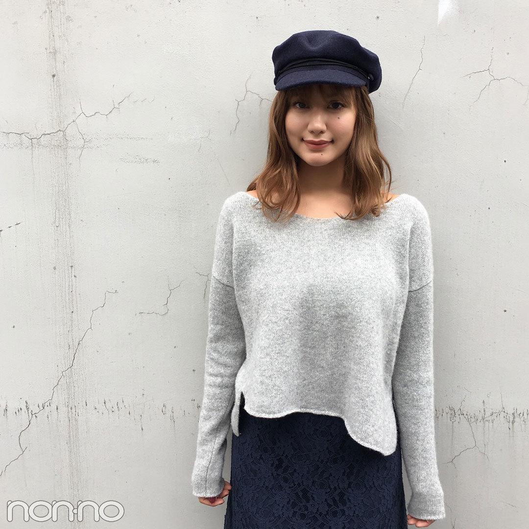 佐藤エリはスナイデルのレーススカートで大人可愛く【モデルの私服】_1_2-1