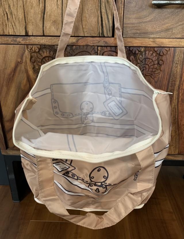 【付録紹介】第三弾!ロベルタ ディ カメリーノのトートバッグは、ファスナー付きに進化!_1_2