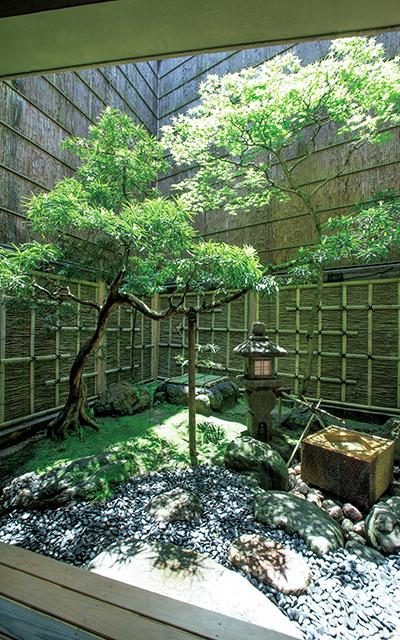 「千歳」の坪庭