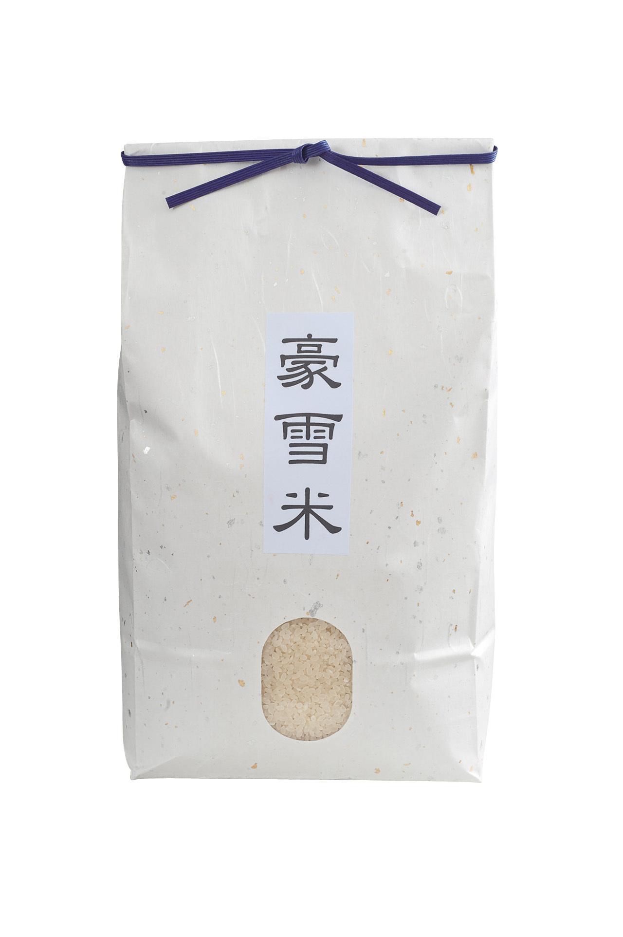 米の名産地で作られたmamaの「豪雪米」_1_1