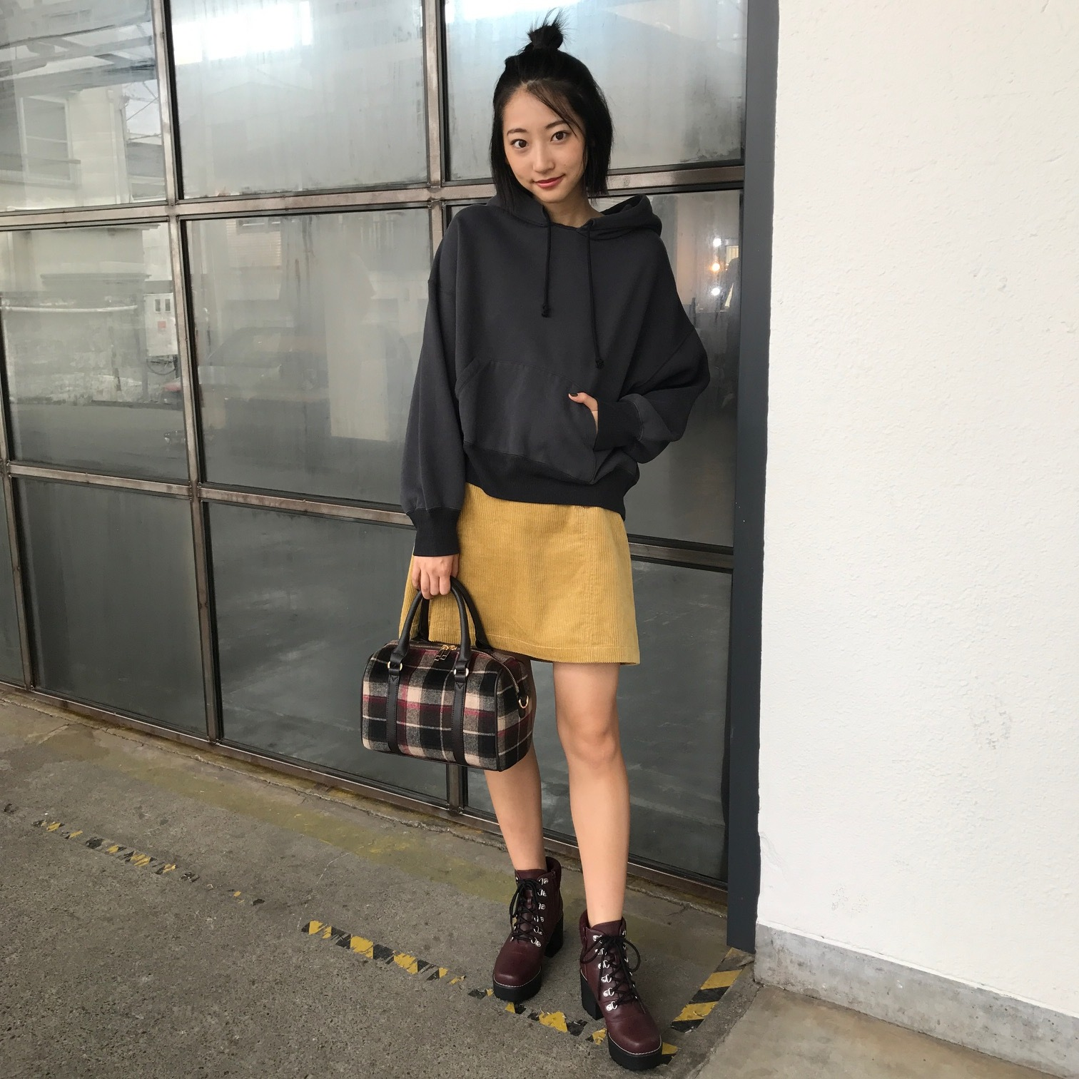 武田玲奈のカジュアル可愛いミニスカコーデ 【毎日コーデ】_1_1