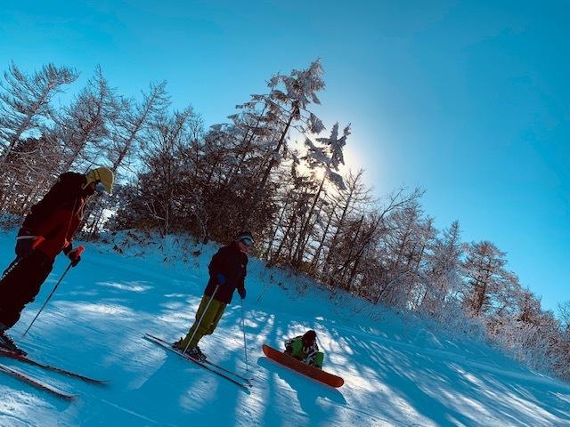 お正月はスキー場で♪妻も母もお休みです(^^♪_1_2-1