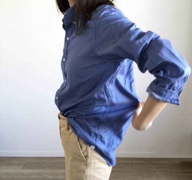 春本番 こなれたシャツの着方をご紹介【40代 私のクローゼット】_1_3