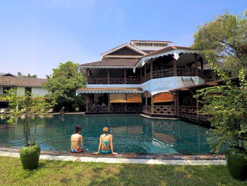 <ミャンマーの旅>古きよき時代へ誘う、英国ビクトリア スタイルのホテル(ヤンゴン-③)_1_3-2