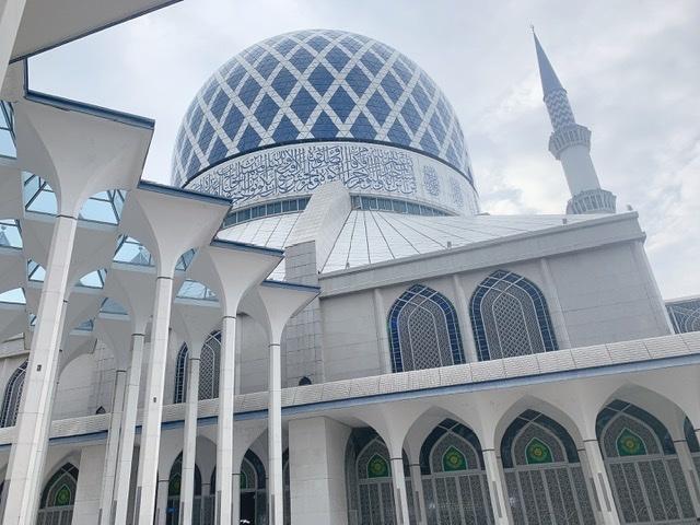 映え女子旅♡ピンクとブルーのマスク in マレーシア_1_6-2