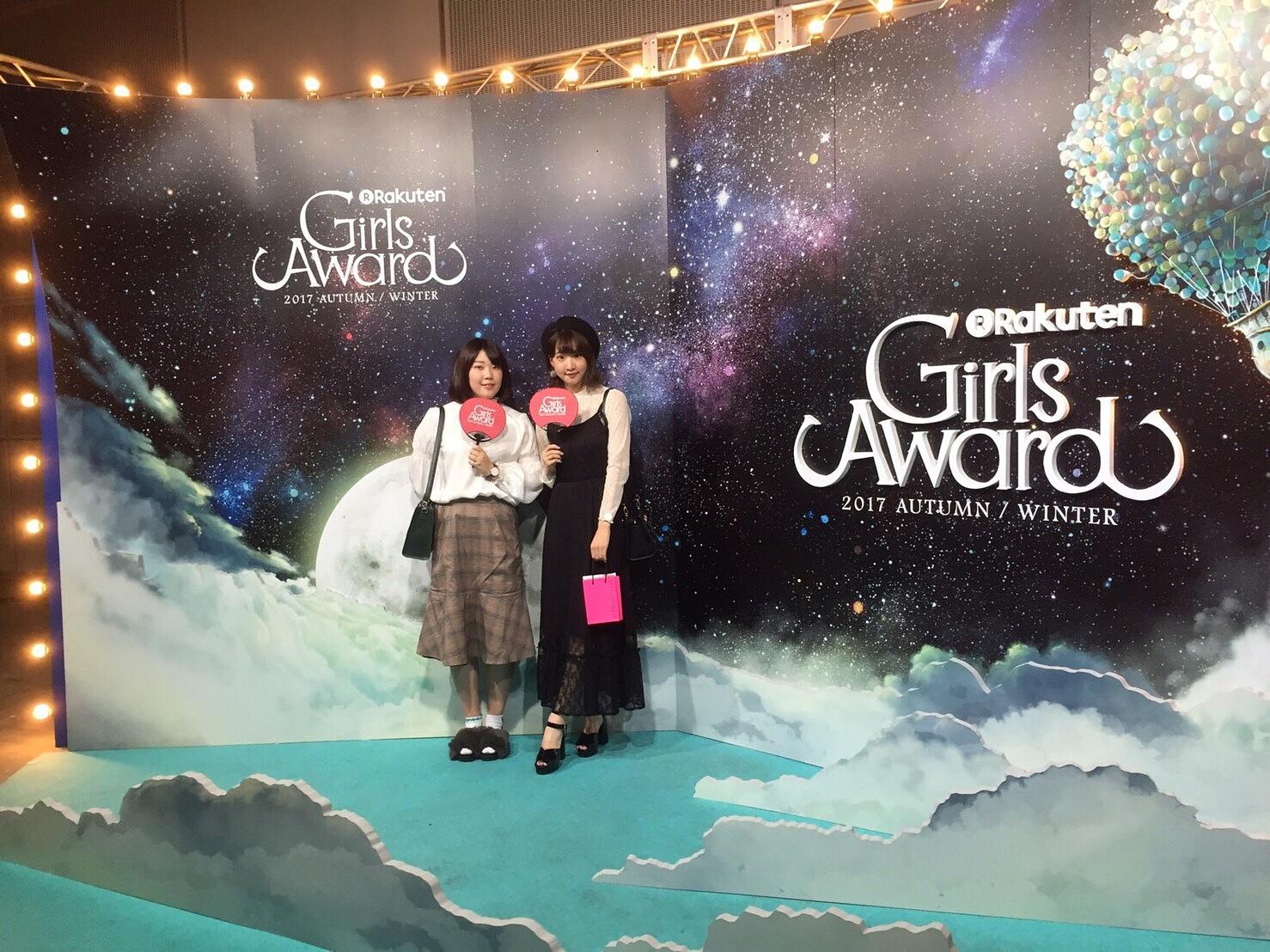 【 第60回❤︎ 】GirlsAward 2017A/W* non-no stage!_1_3