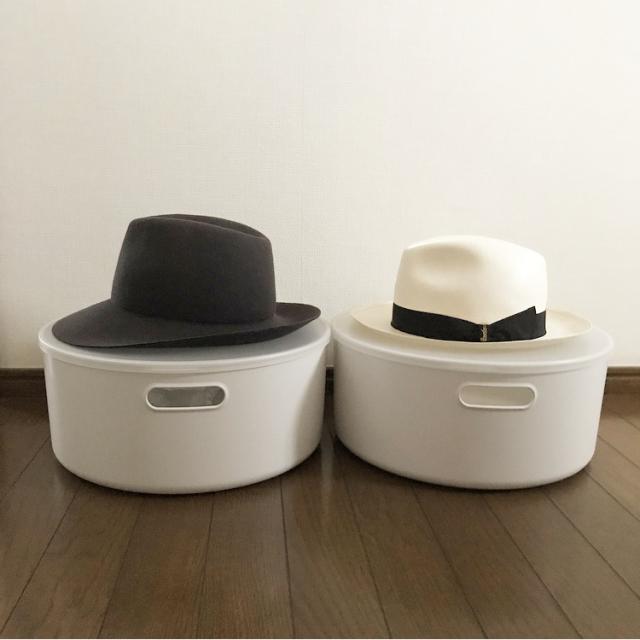 クチコミ実践でスッキリ解決!帽子の収納は無印良品が便利です_1_1