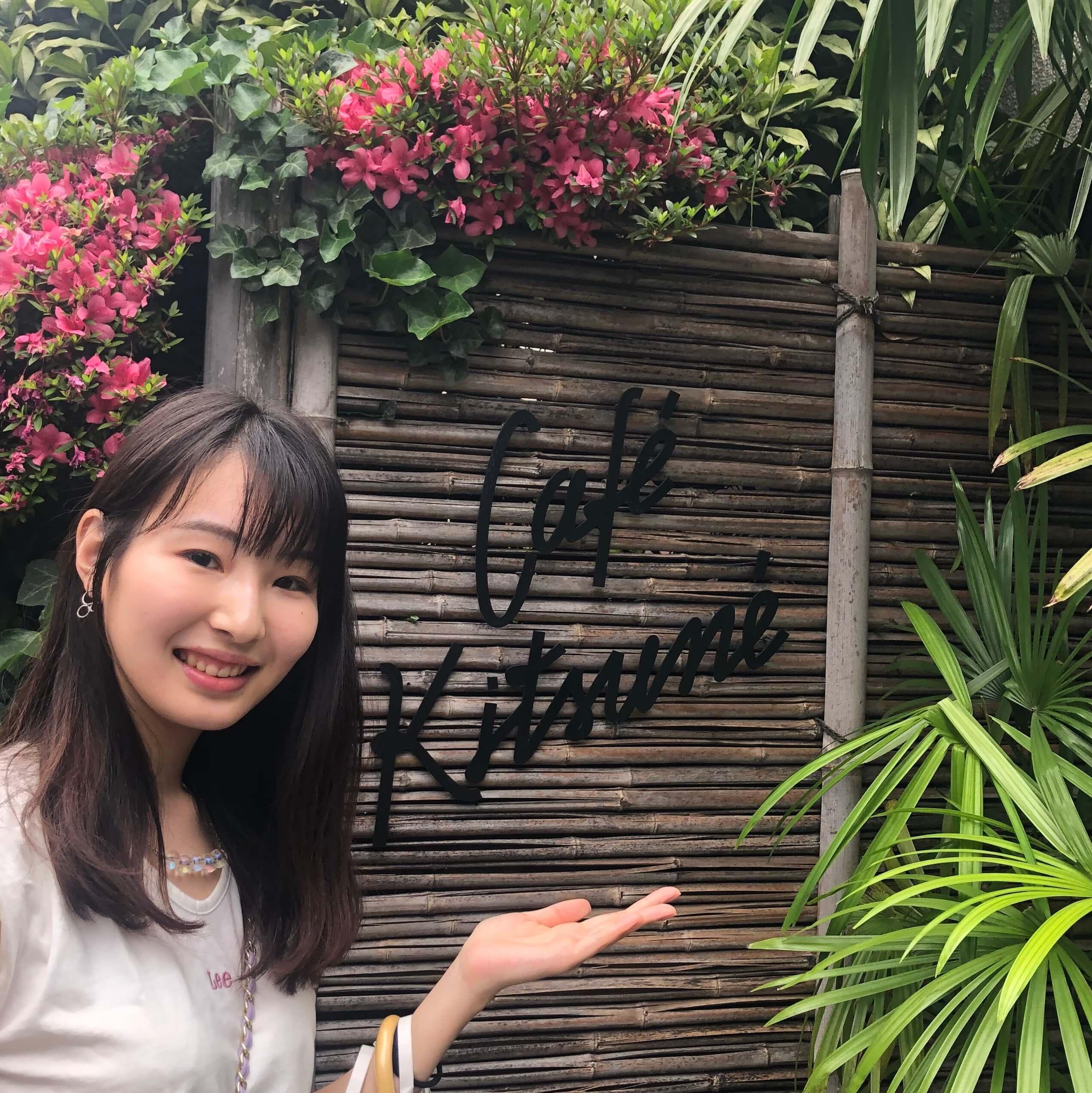 表参道のおしゃれカフェ【CAFE KITSUNE】_1_1