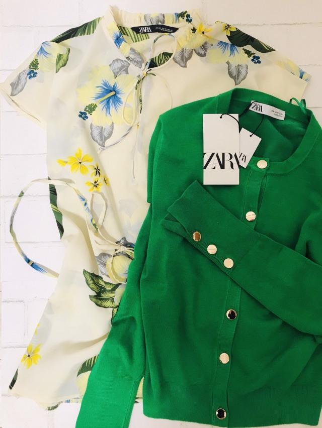 ZARAの春服は華やぎグリーンと花柄がイチ押し_1_1