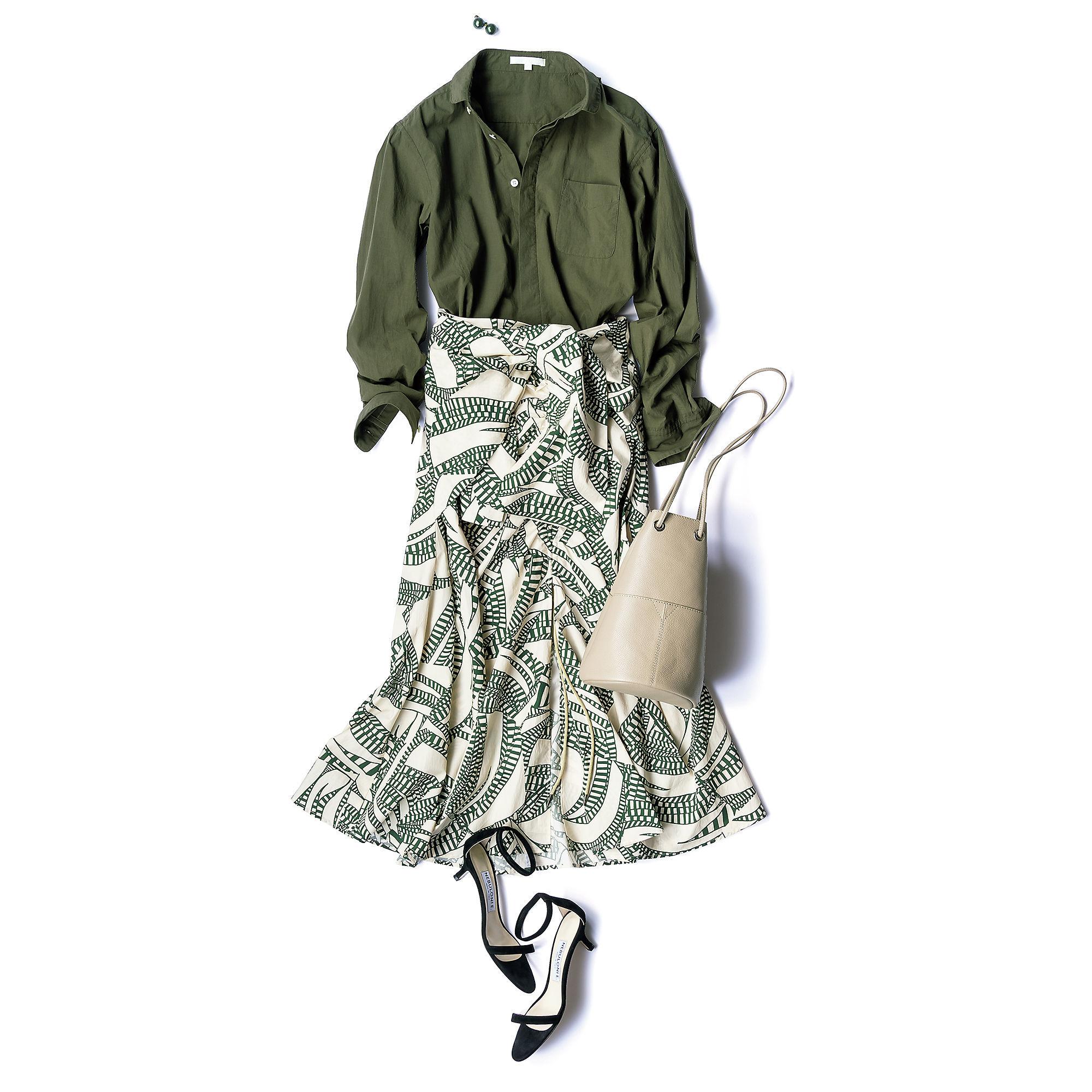150cmエディター・宮崎桃代の大人気企画、お気に入りシャツを着回し!映えボトムで旬スタイル_1_2