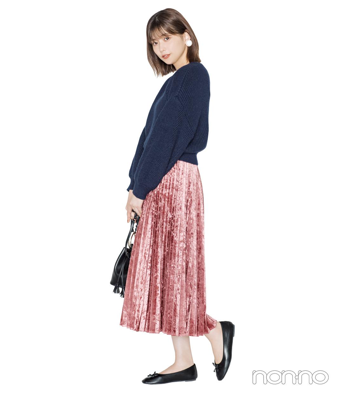 この秋モテたいなら♡ 女っぽニット×プリーツスカート!【秋冬トレンド服の正解コーデ教えます】_1_5