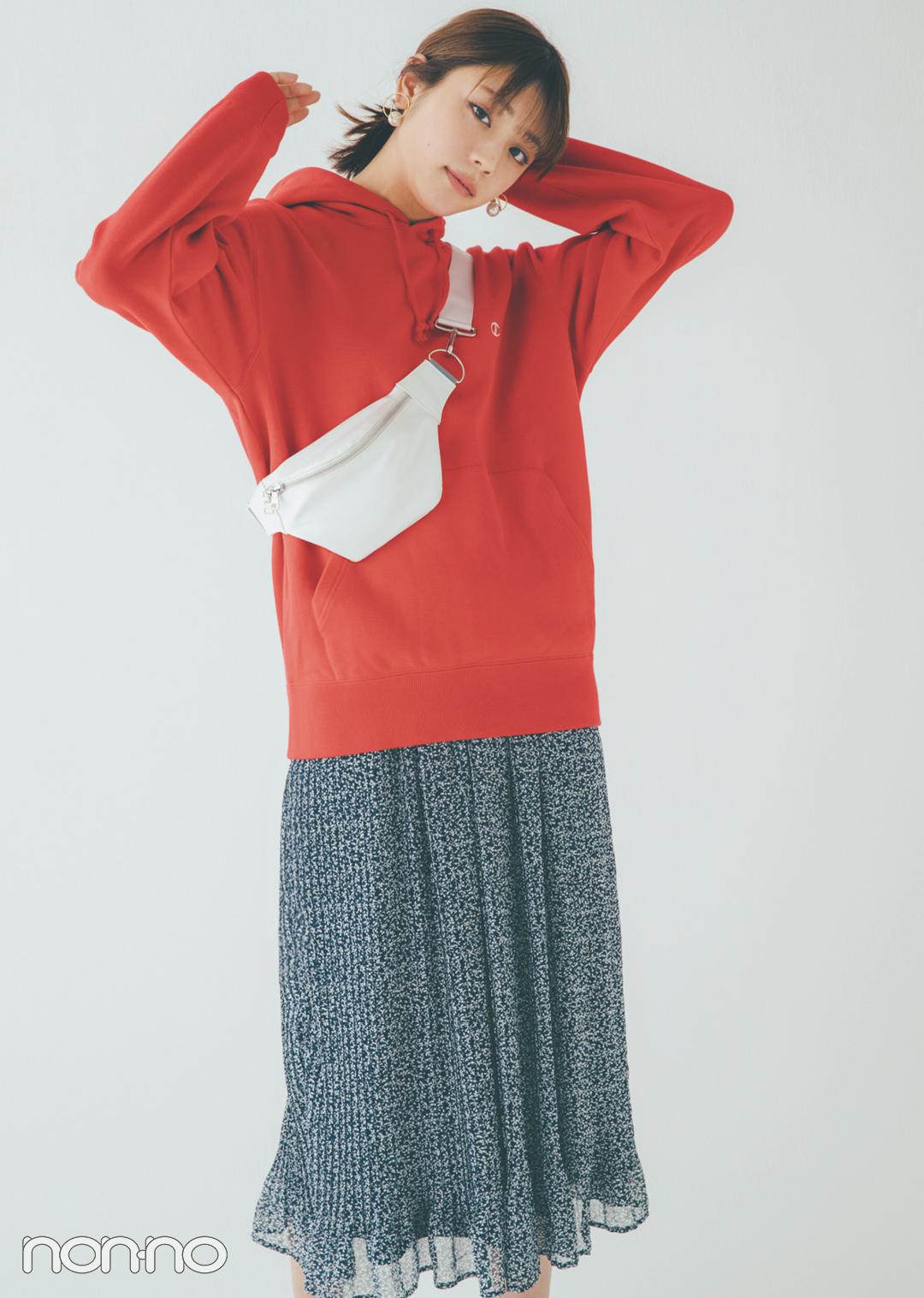 貴島明日香の赤×白×ネイビーがお手本! 好感度&おしゃれ感どっちも♡  _1_3-3